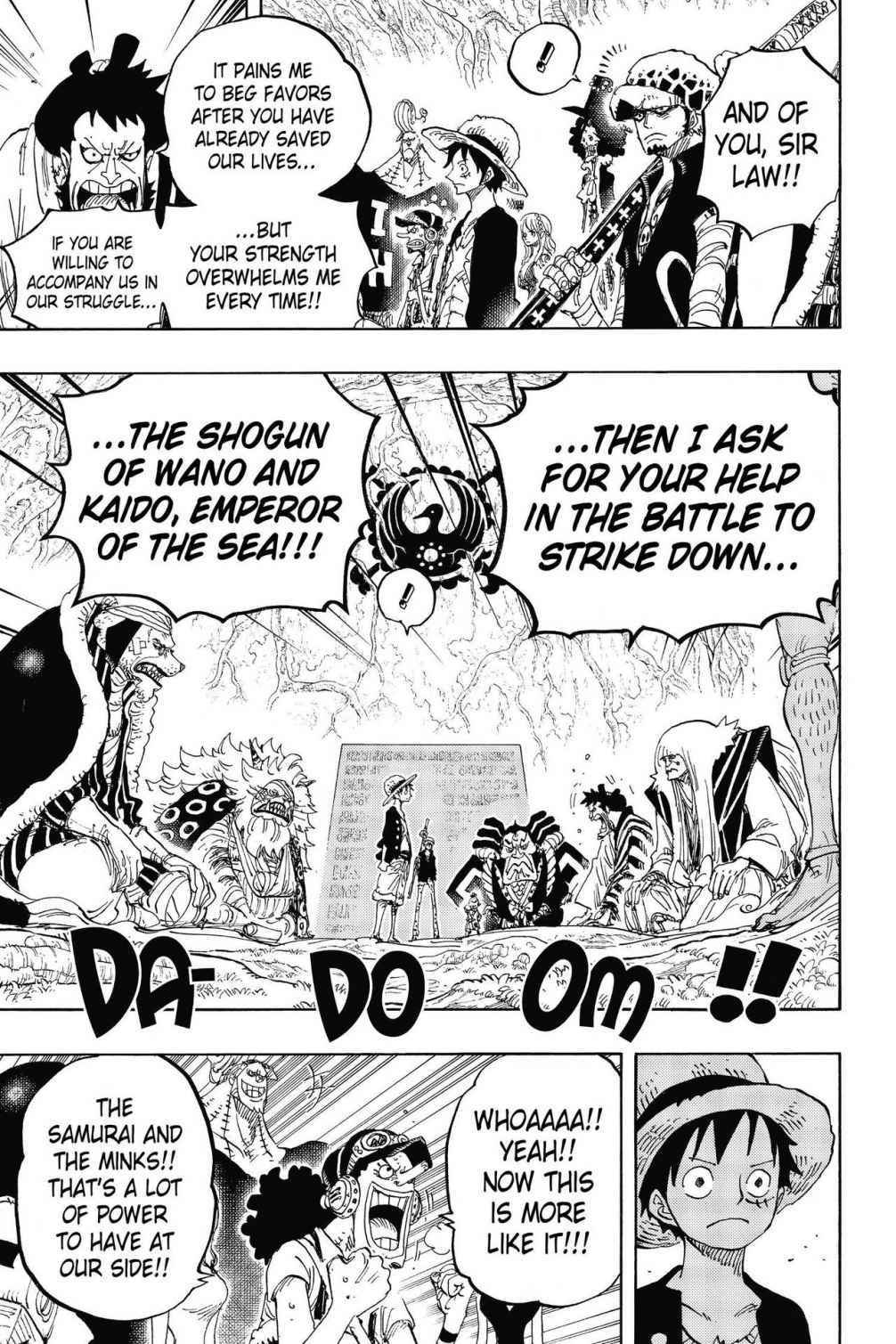 One Piece Chapter 819 Page 7