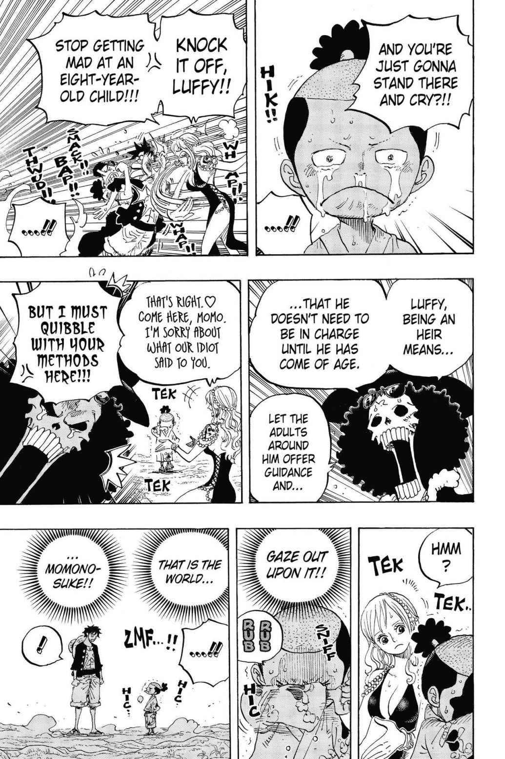 One Piece Chapter 819 Page 9