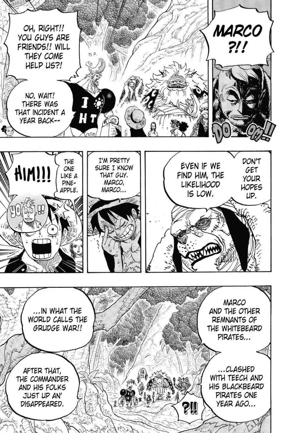 One Piece Chapter 820 Page 11