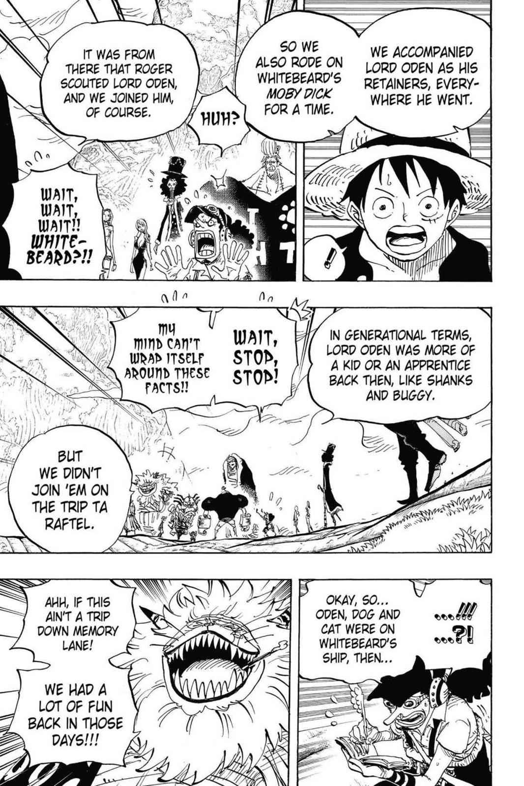 One Piece Chapter 820 Page 3