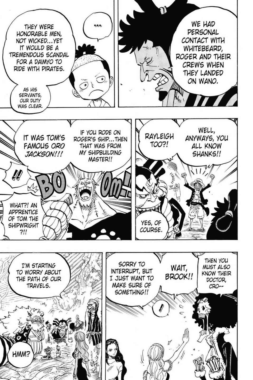 One Piece Chapter 820 Page 5