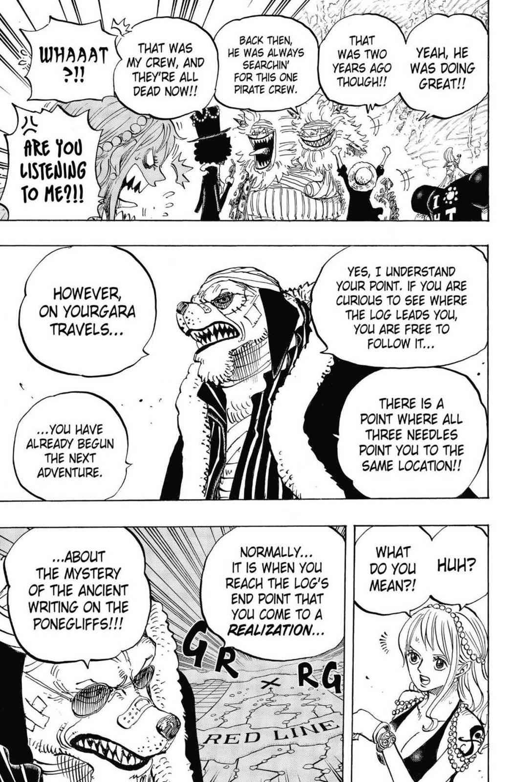 One Piece Chapter 820 Page 7