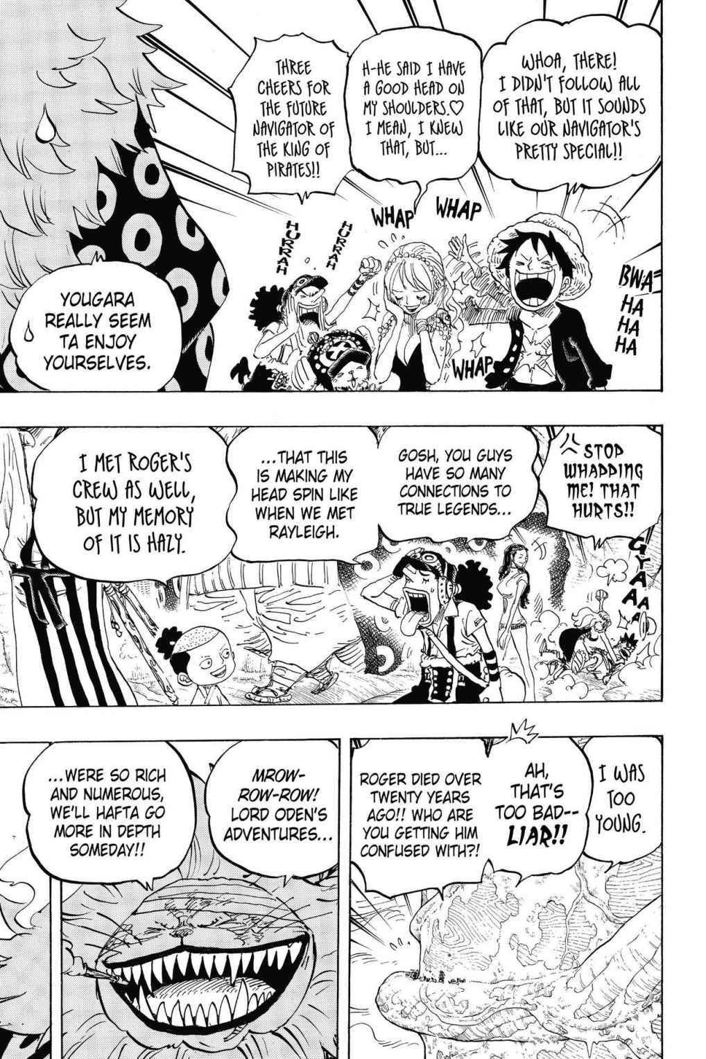 One Piece Chapter 820 Page 9