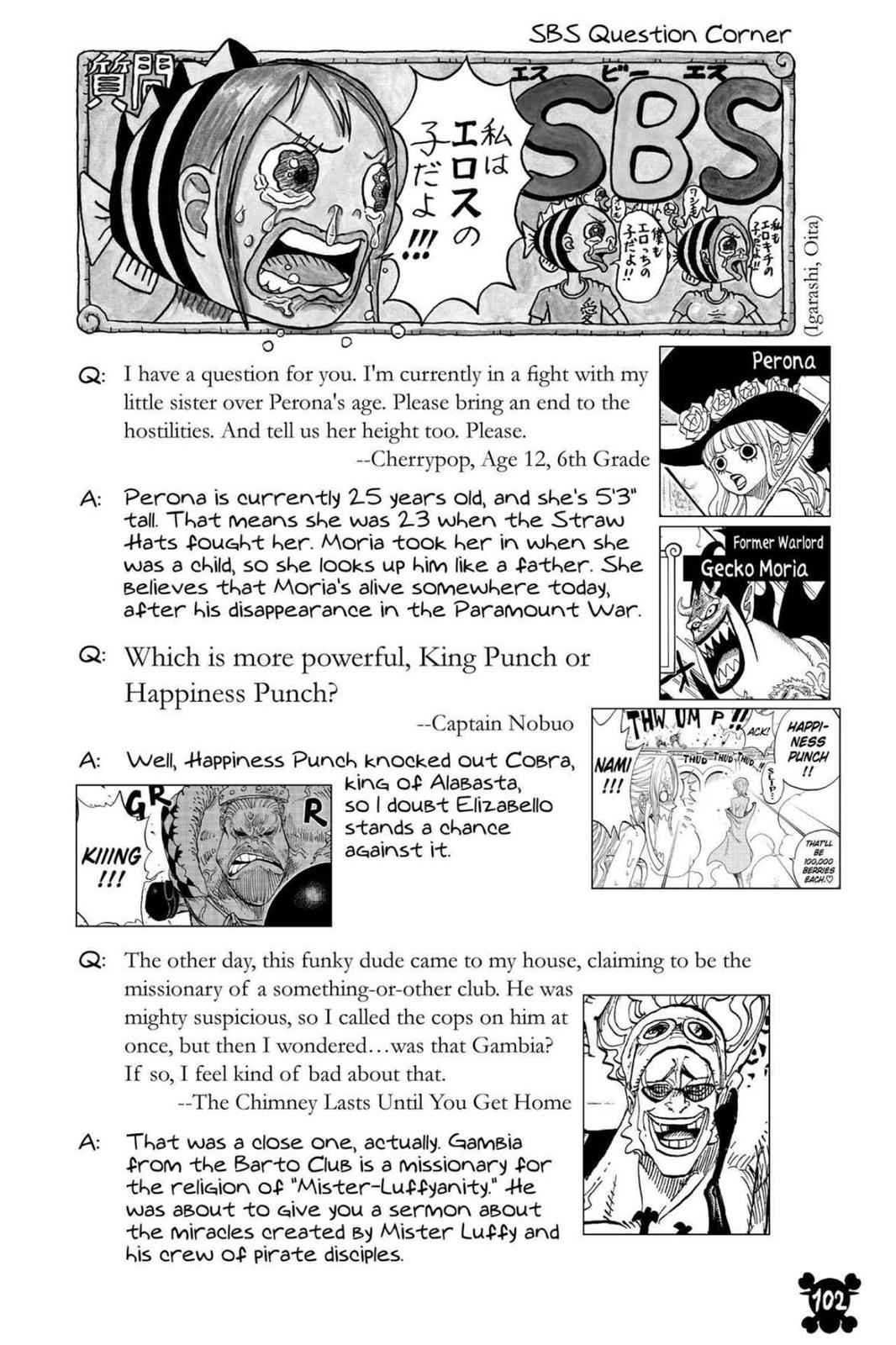 One Piece Chapter 821 Page 19