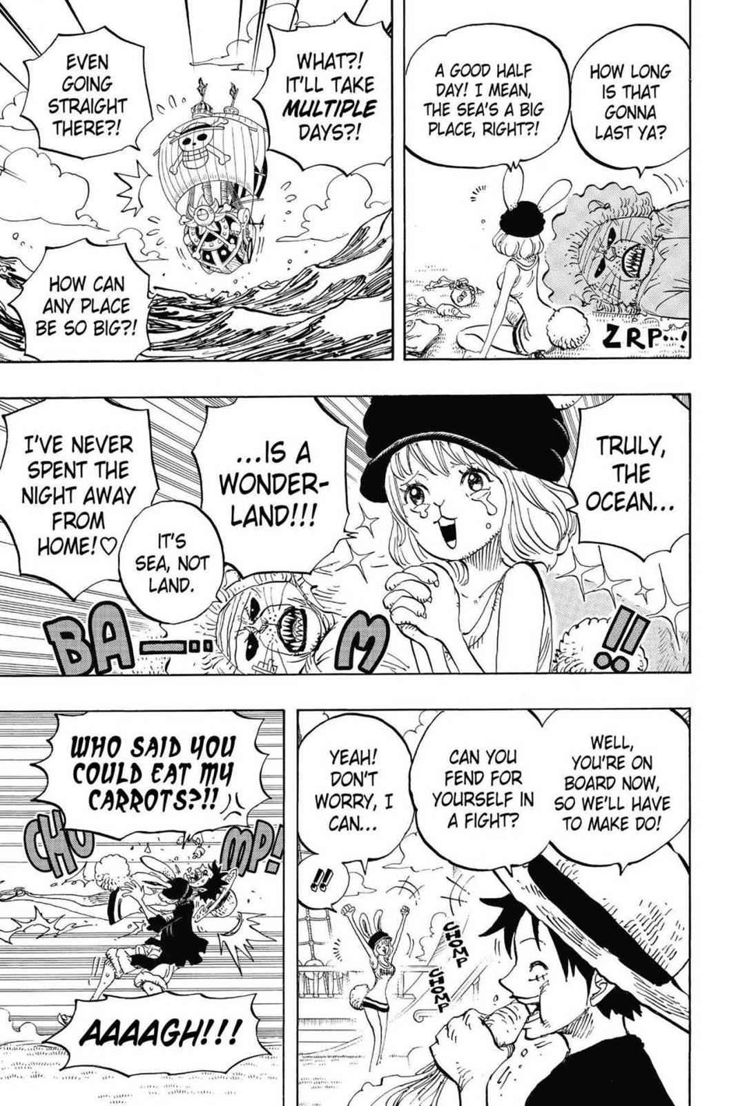 One Piece Chapter 823 Page 16