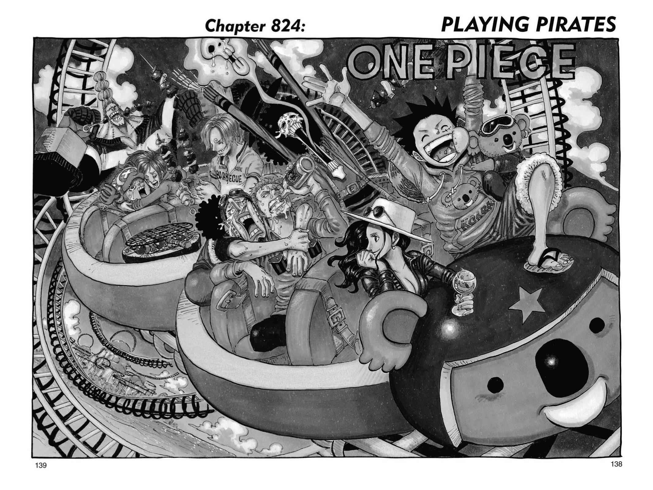 One Piece Chapter 824 Page 1
