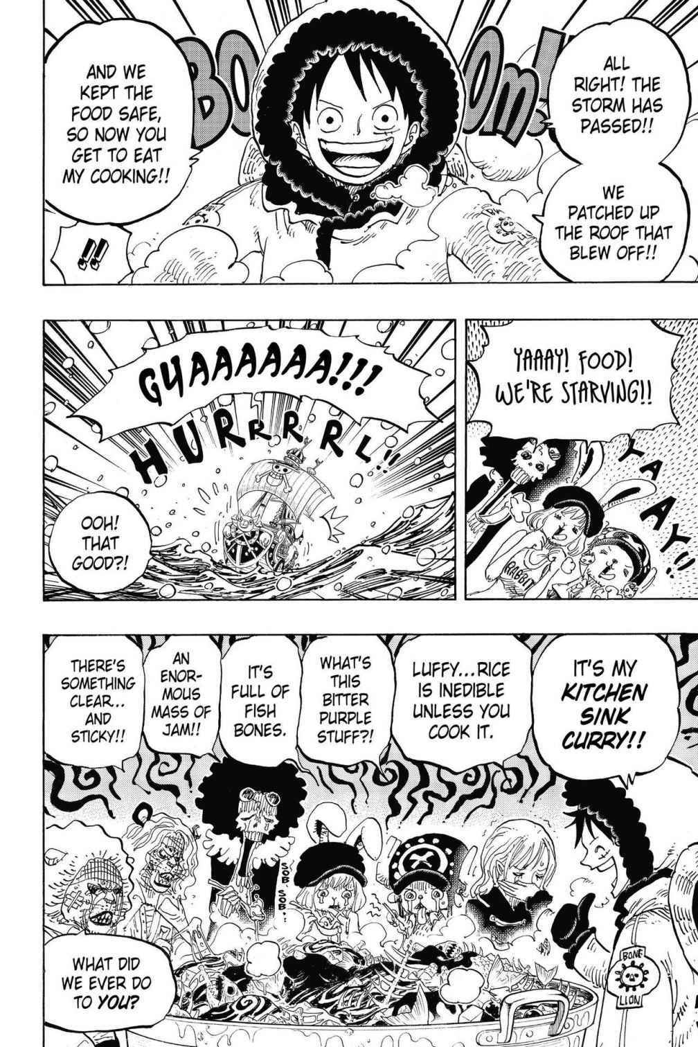 One Piece Chapter 824 Page 14