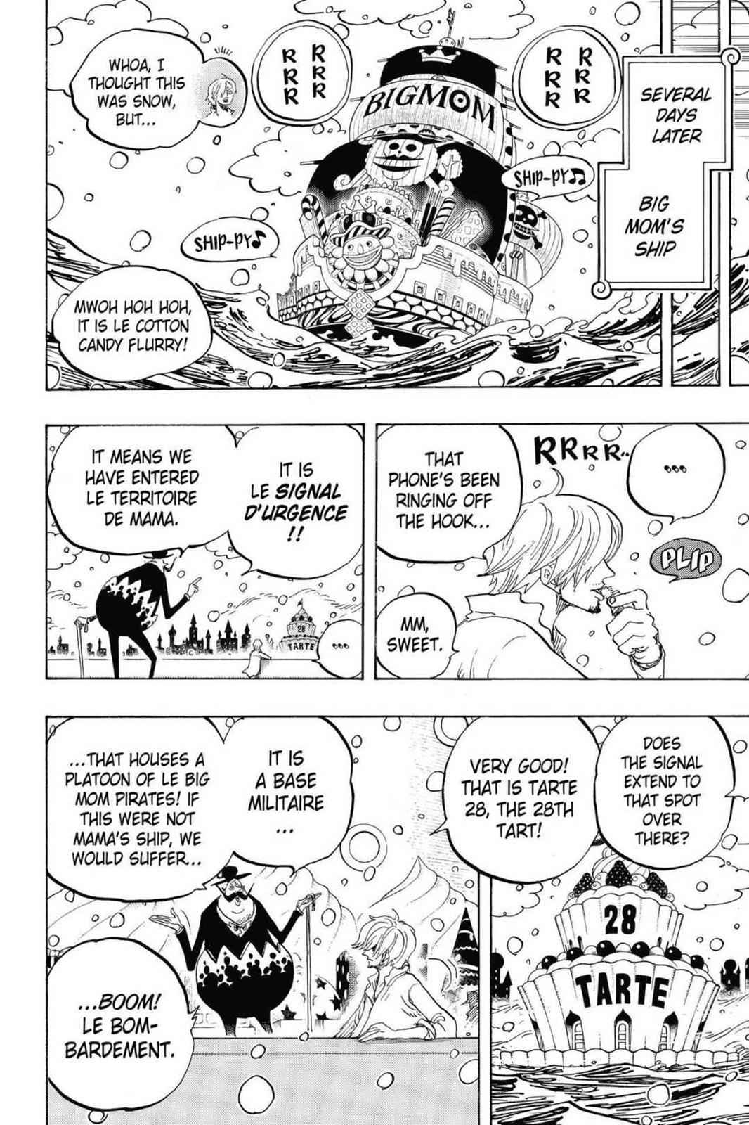One Piece Chapter 824 Page 16