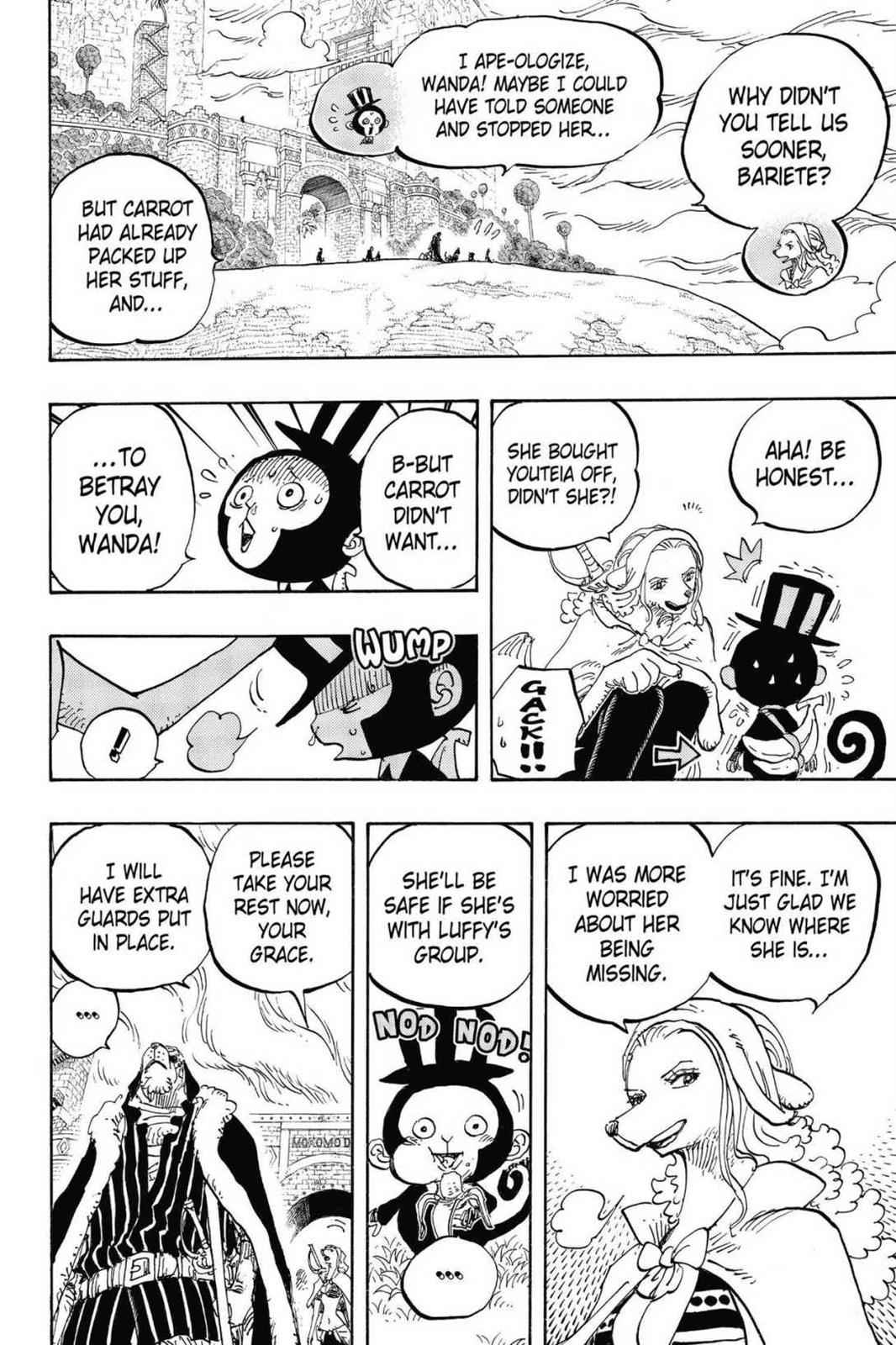 One Piece Chapter 824 Page 8