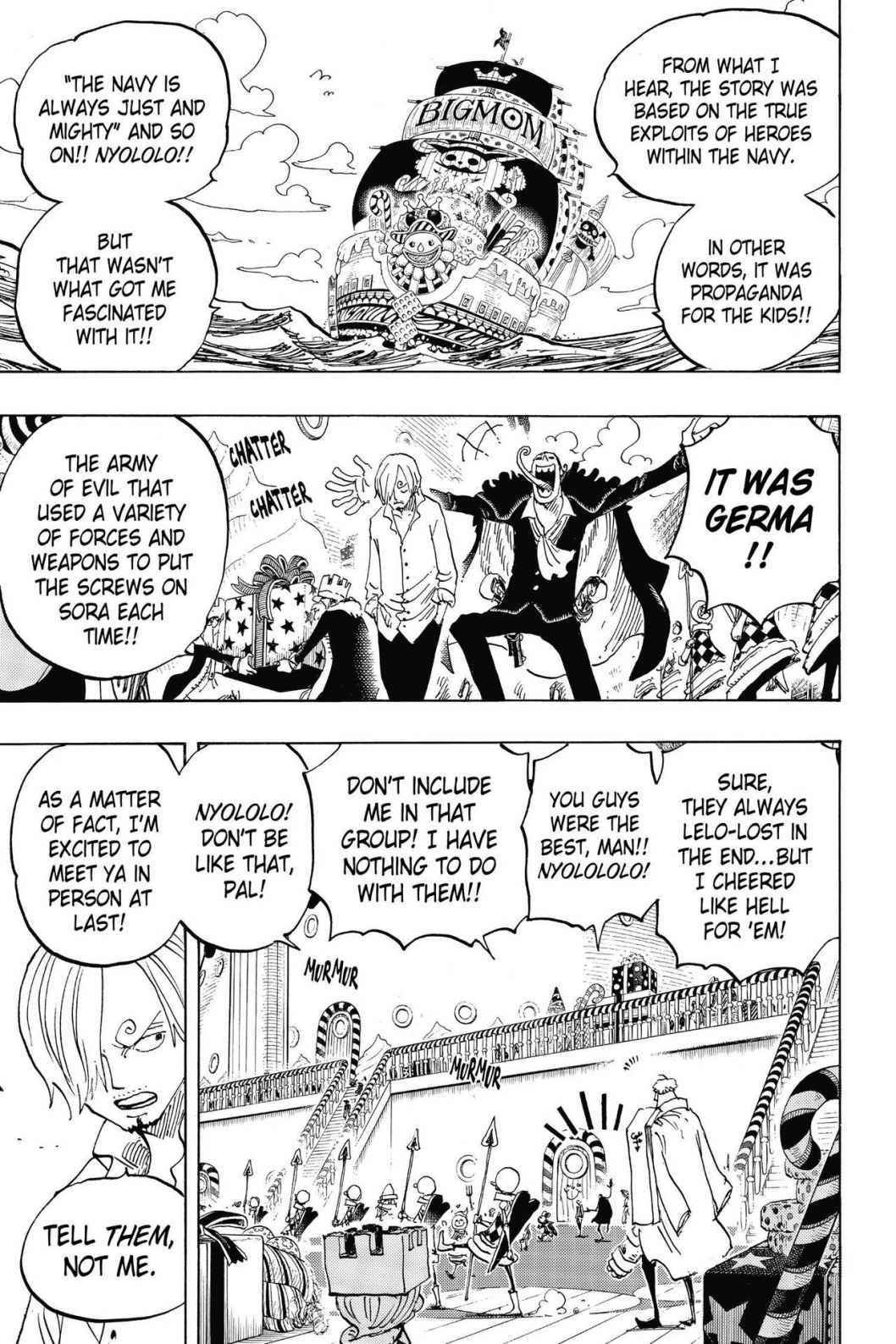 One Piece Chapter 825 Page 3