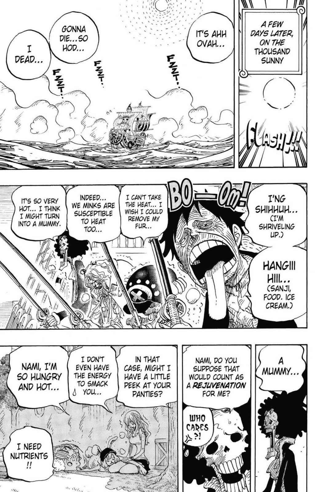 One Piece Chapter 825 Page 7