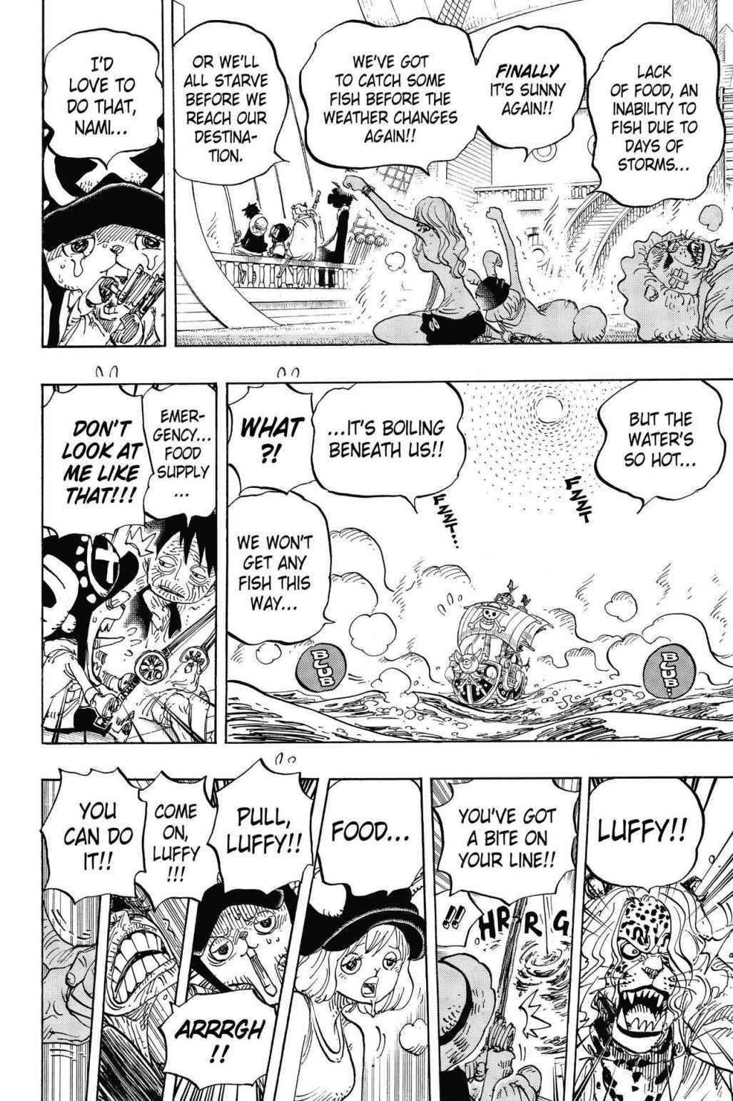 One Piece Chapter 825 Page 8