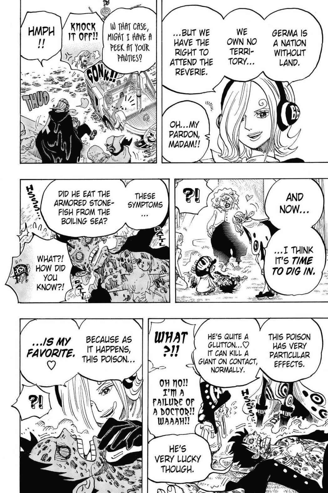 One Piece Chapter 826 Page 10