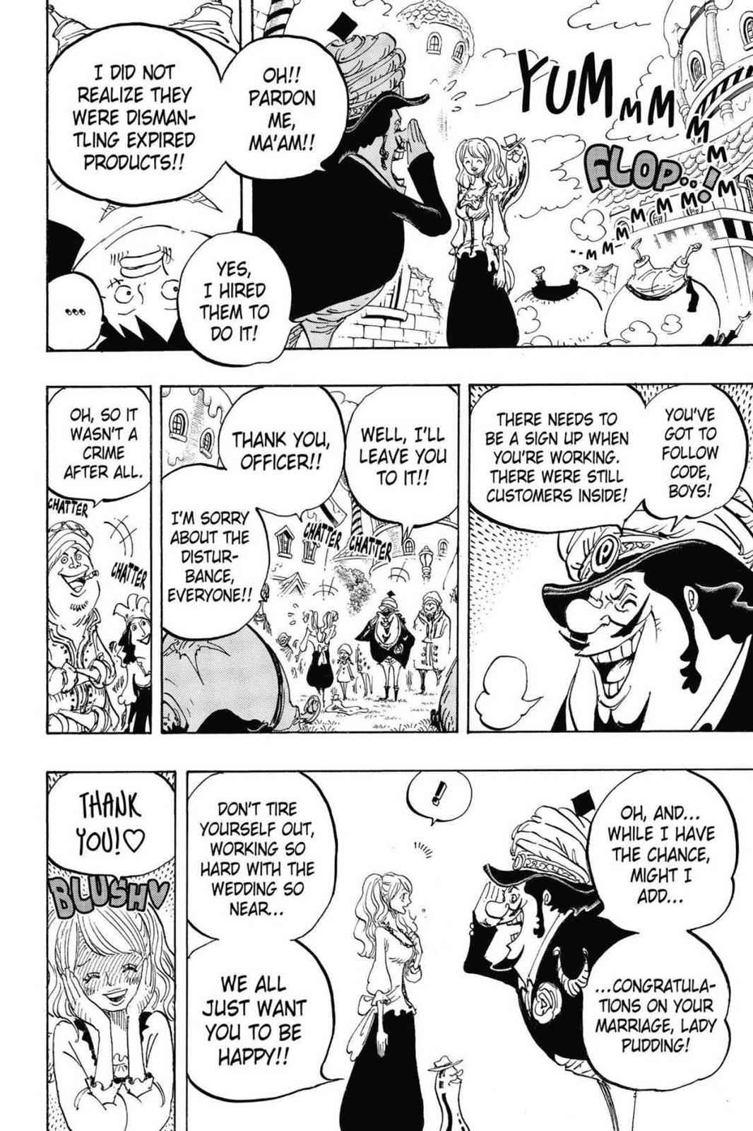 One Piece Chapter 827 Page 10