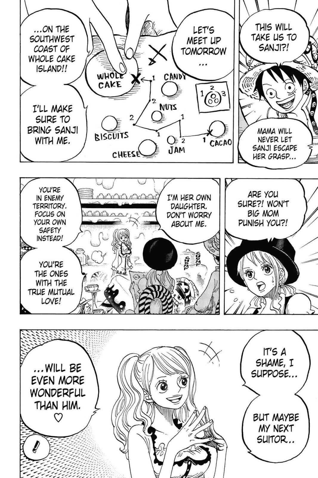 One Piece Chapter 828 Page 17