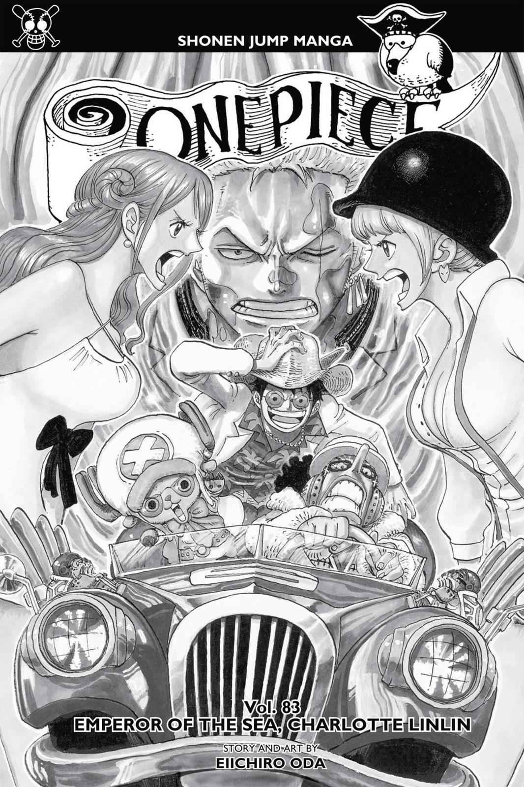 One Piece Chapter 828 Page 4