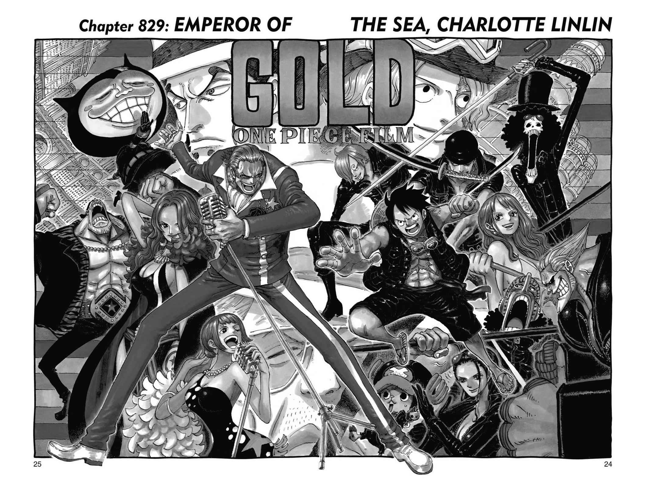 One Piece Chapter 829 Page 1