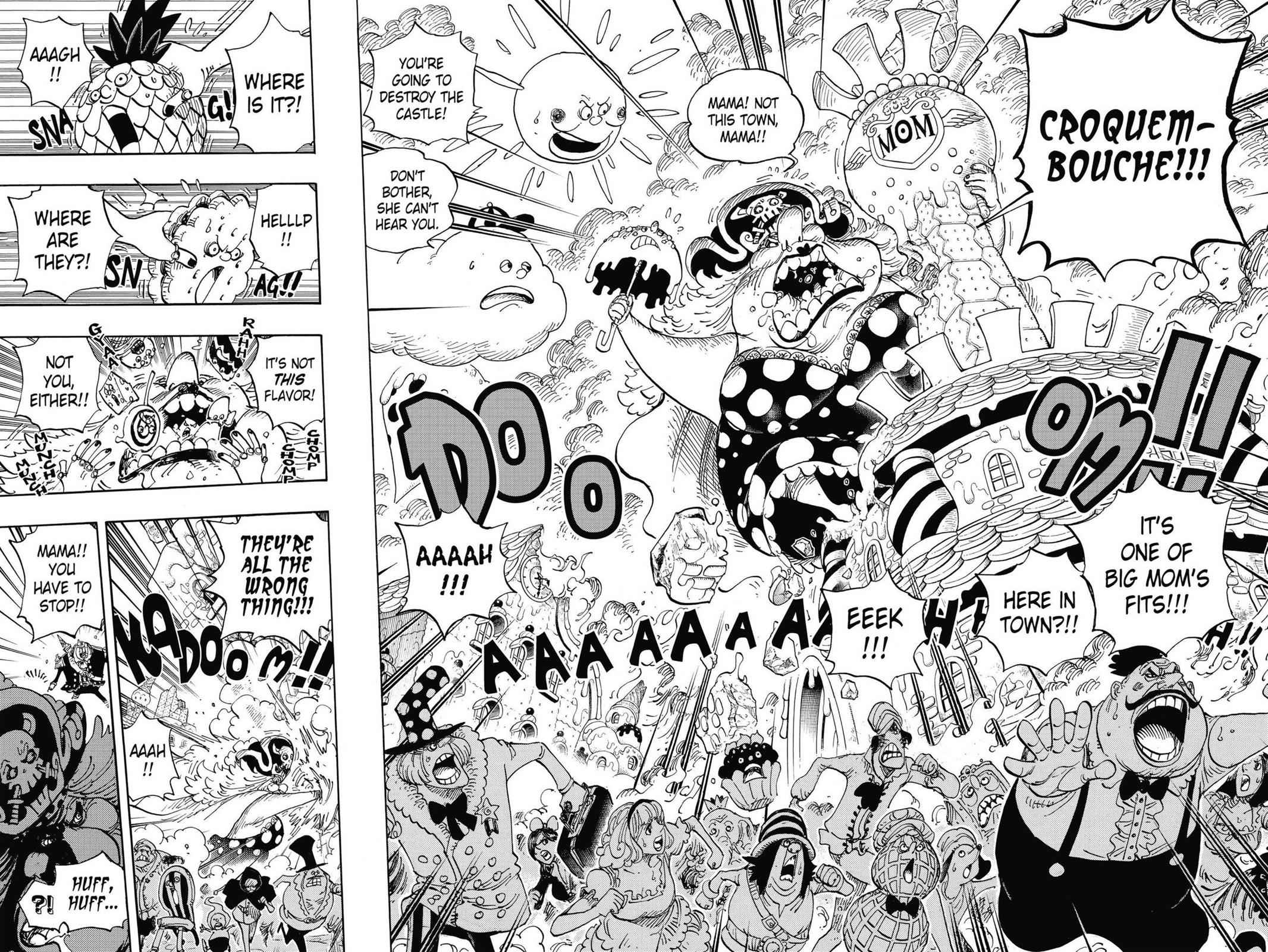 One Piece Chapter 829 Page 8