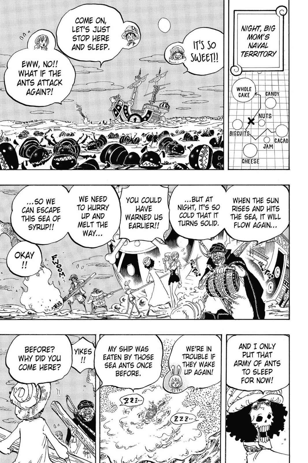 One Piece Chapter 830 Page 11