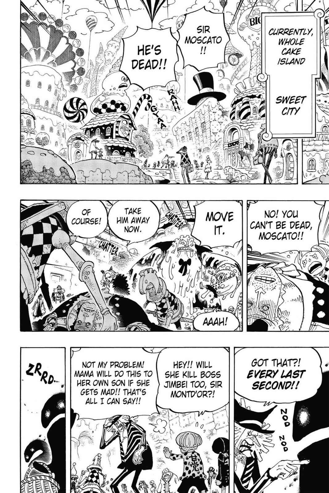 One Piece Chapter 830 Page 8