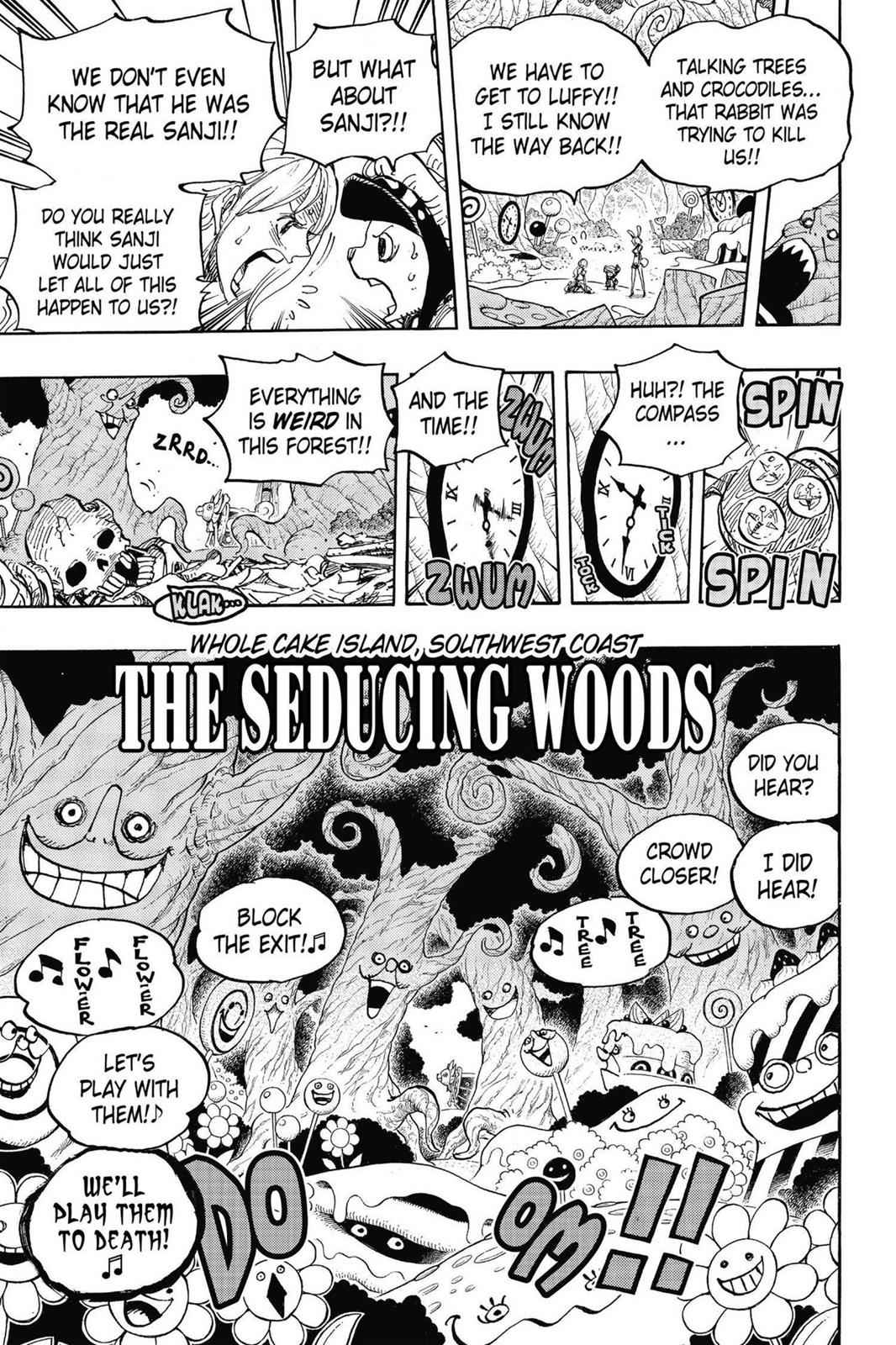 One Piece Chapter 831 Page 17