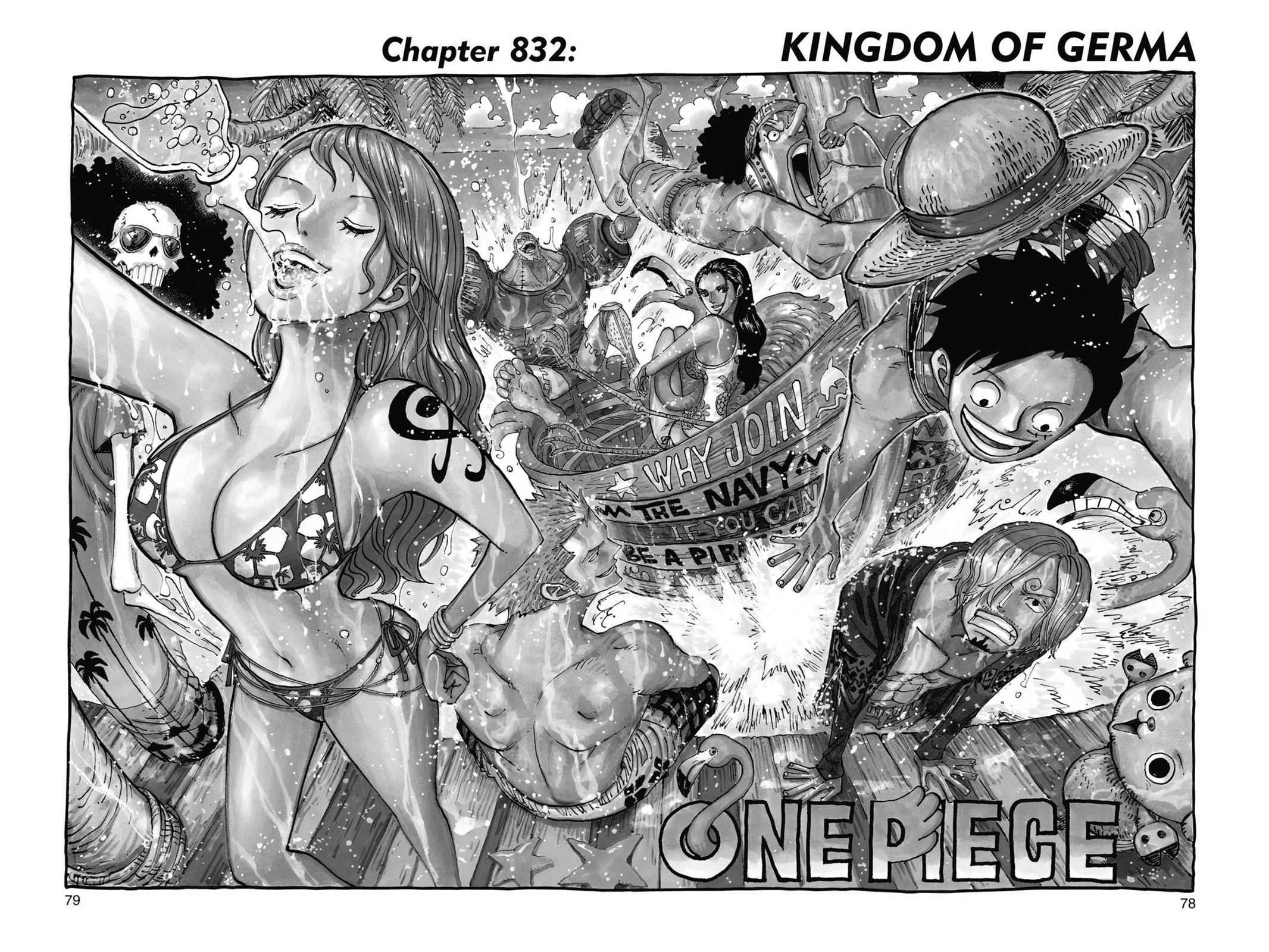 One Piece Chapter 832 Page 1