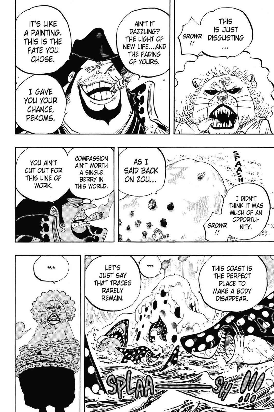 One Piece Chapter 834 Page 10