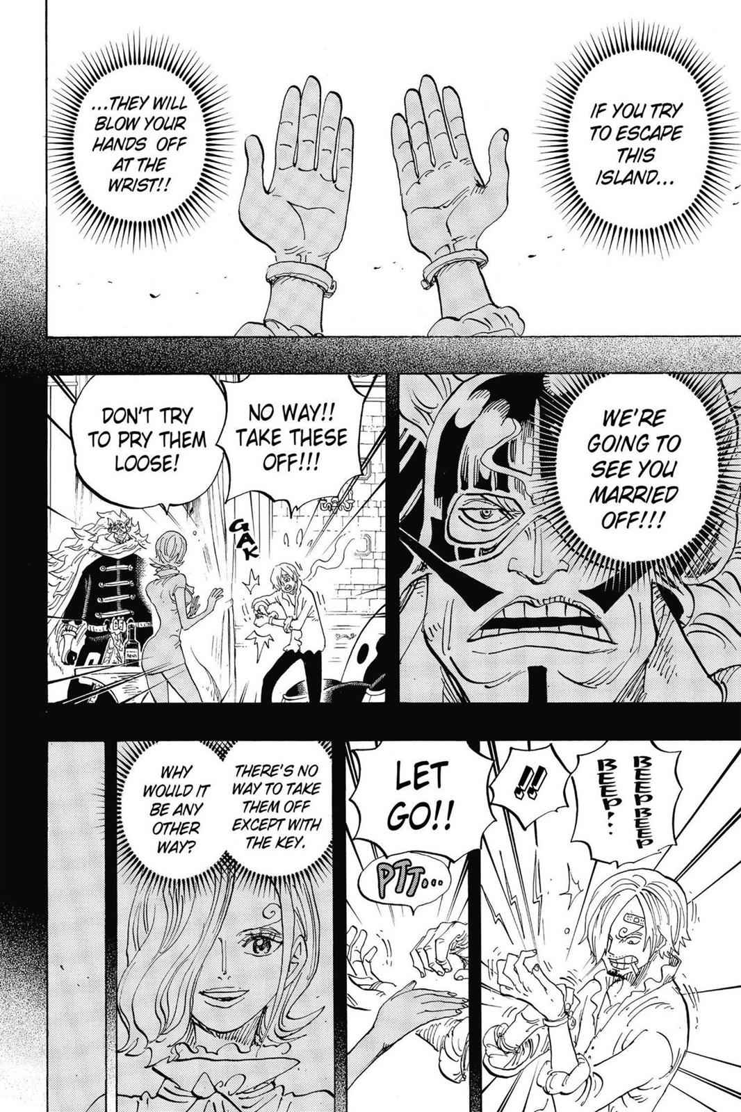 One Piece Chapter 834 Page 2