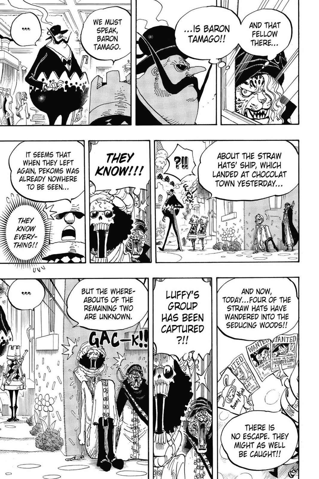 One Piece Chapter 834 Page 7