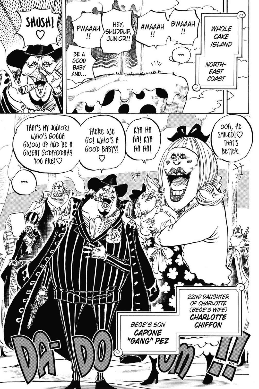 One Piece Chapter 834 Page 9
