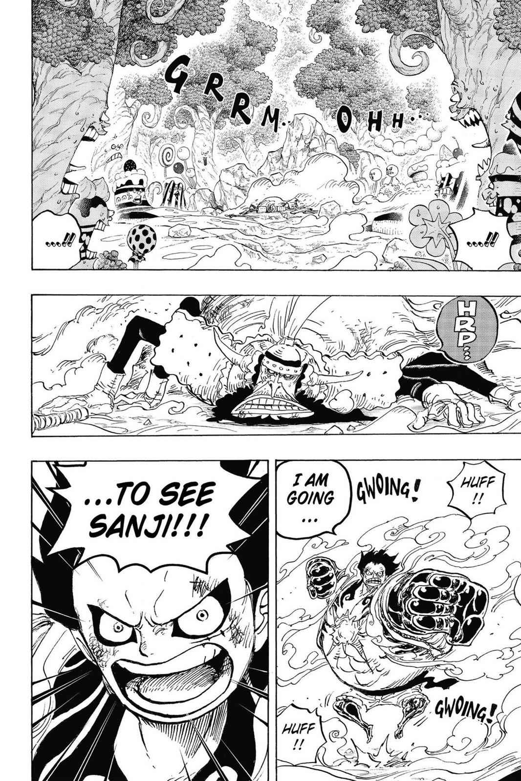 One Piece Chapter 838 Page 2