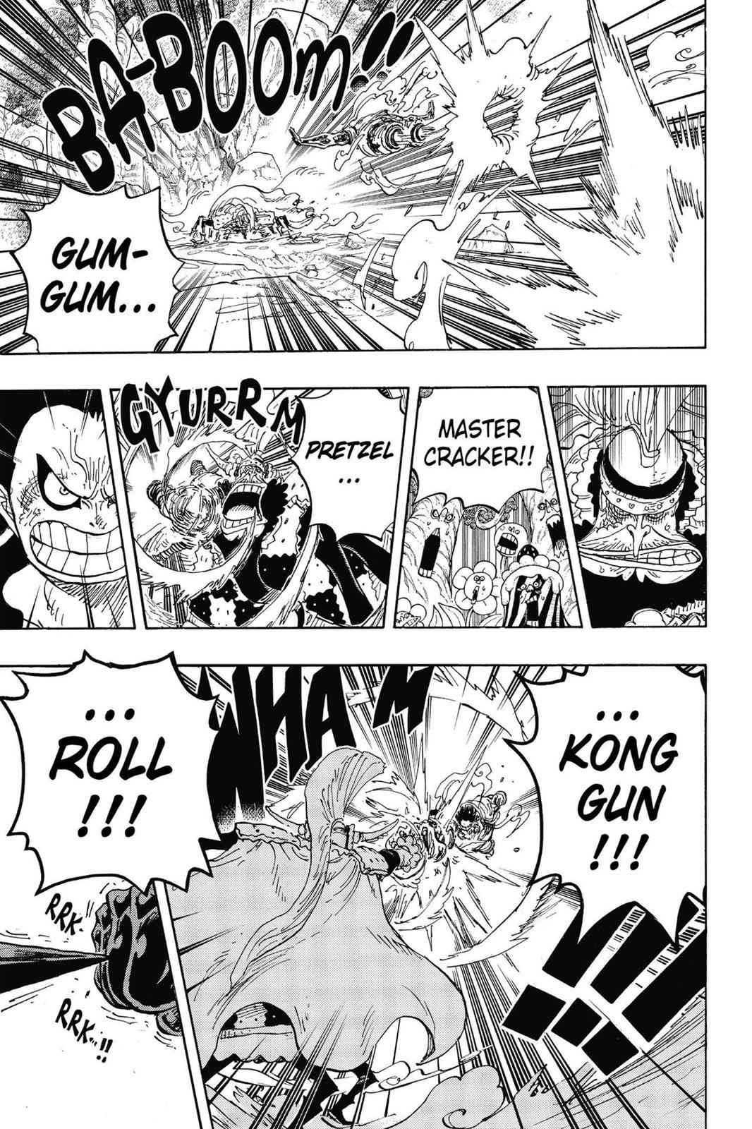 One Piece Chapter 838 Page 3