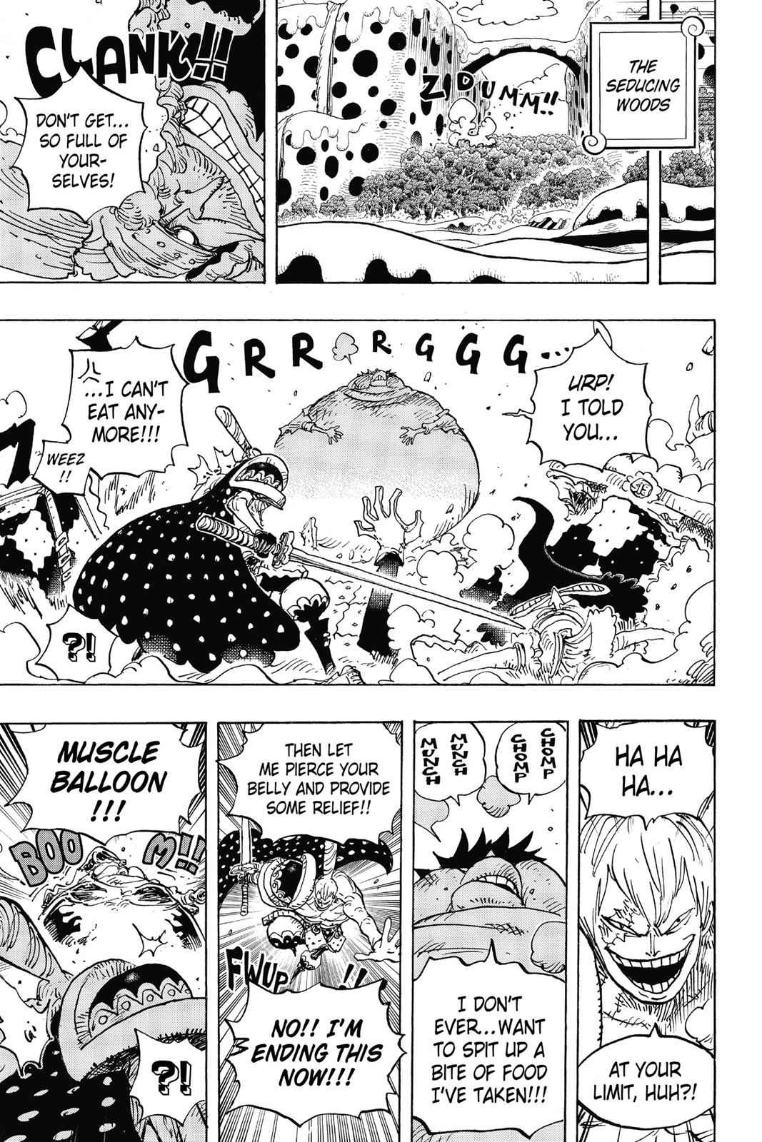 One Piece Chapter 842 Page 10