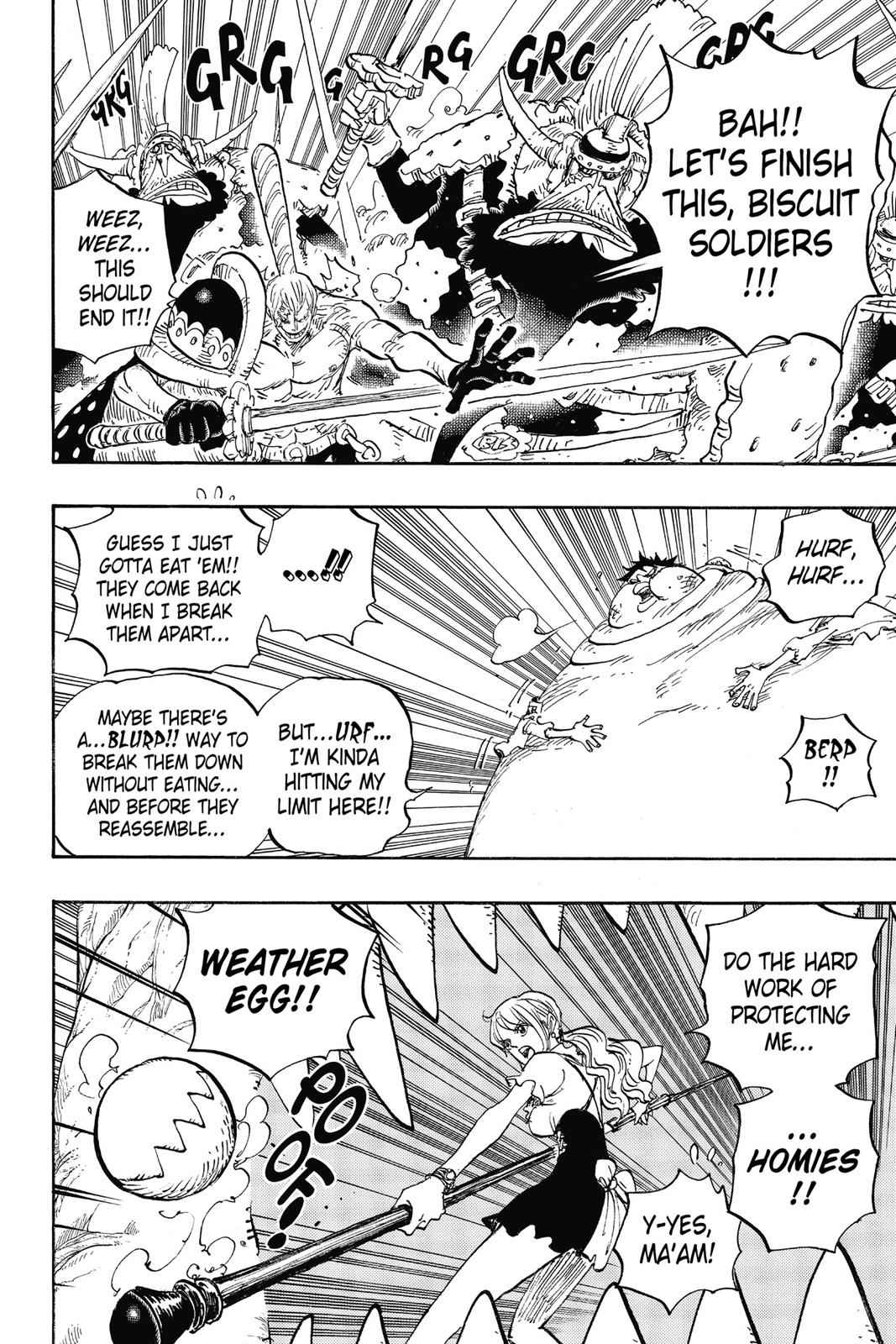 One Piece Chapter 842 Page 3