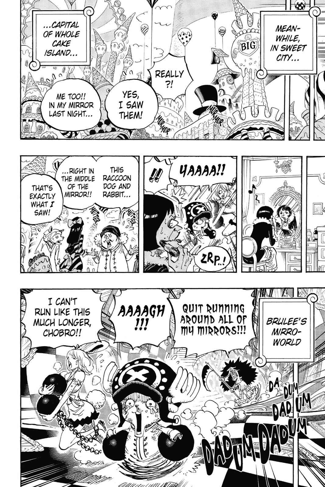 One Piece Chapter 842 Page 5