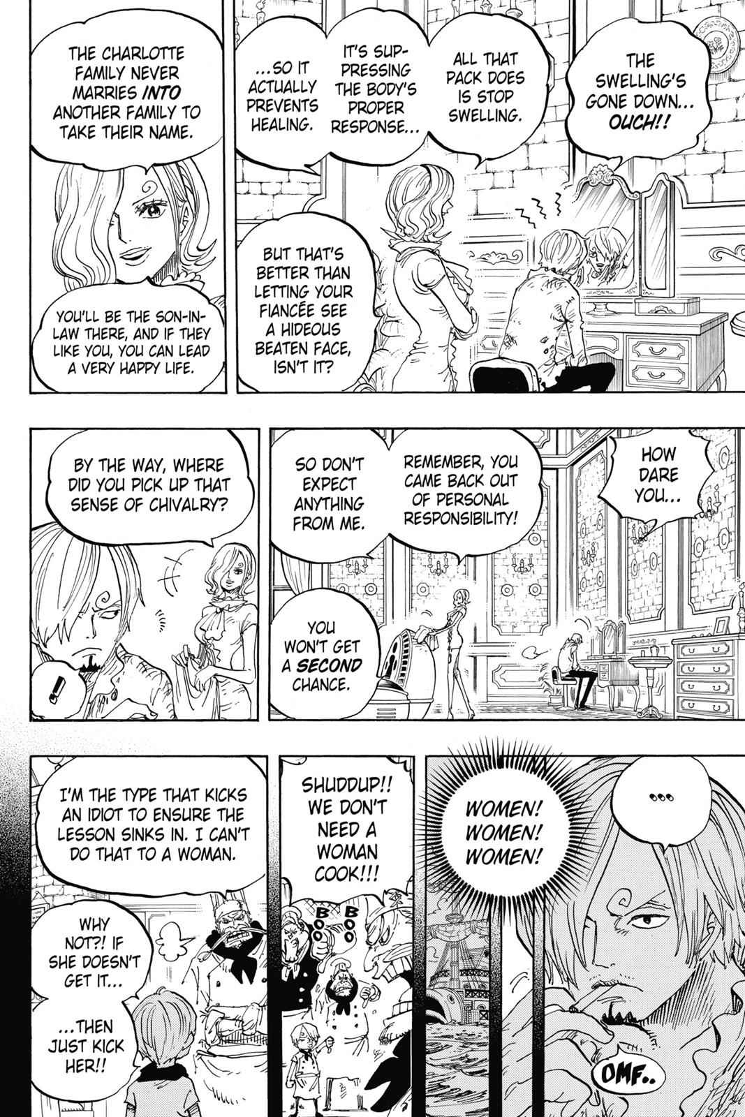 One Piece Chapter 842 Page 7