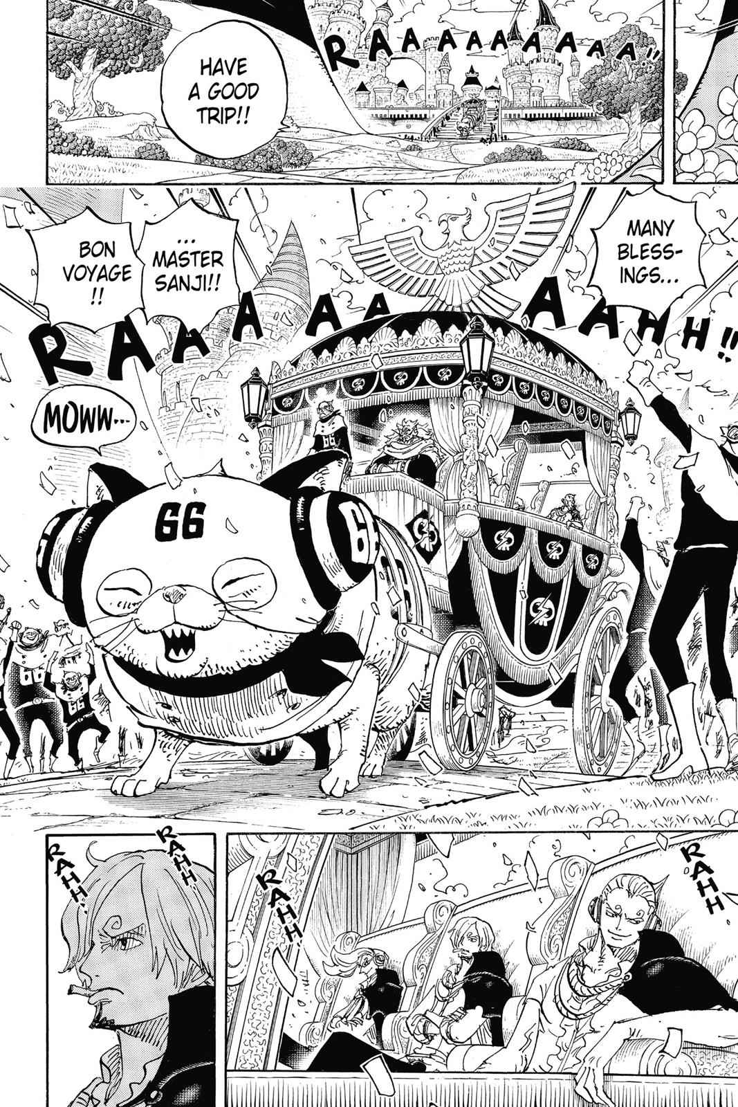 One Piece Chapter 842 Page 9