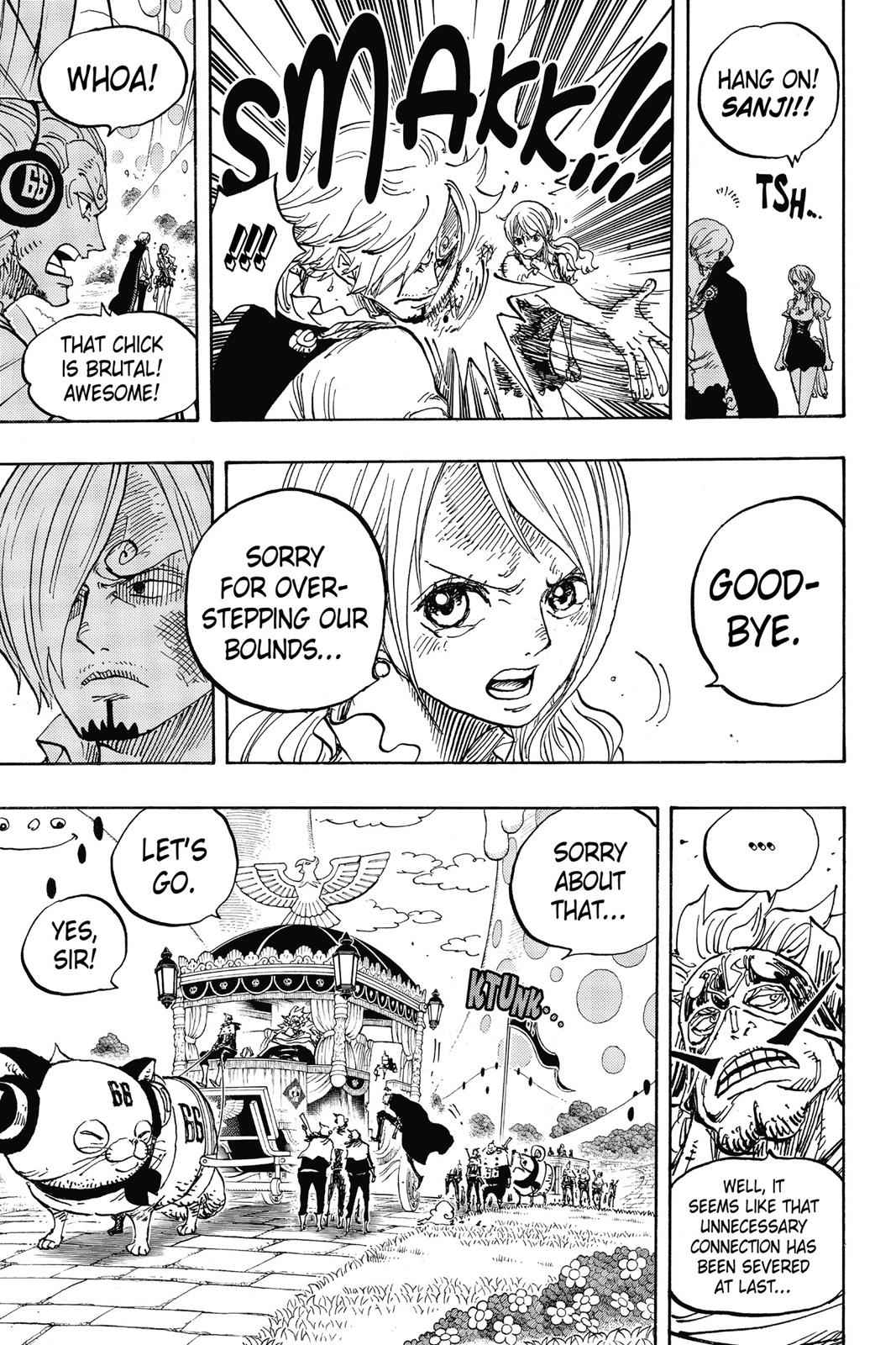 One Piece Chapter 844 Page 12