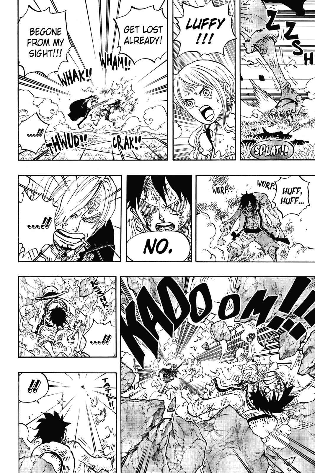 One Piece Chapter 844 Page 9