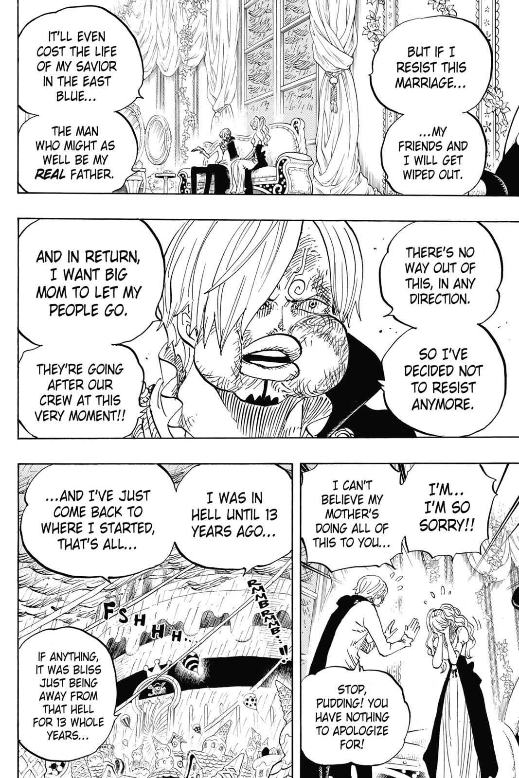 One Piece Chapter 845 Page 13