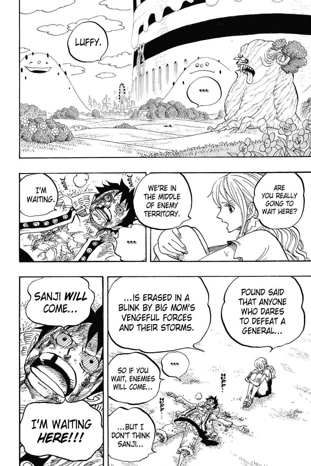One Piece Chapter 845 Page 2