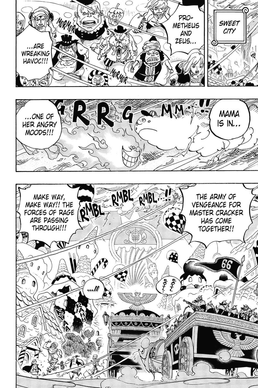 One Piece Chapter 845 Page 4