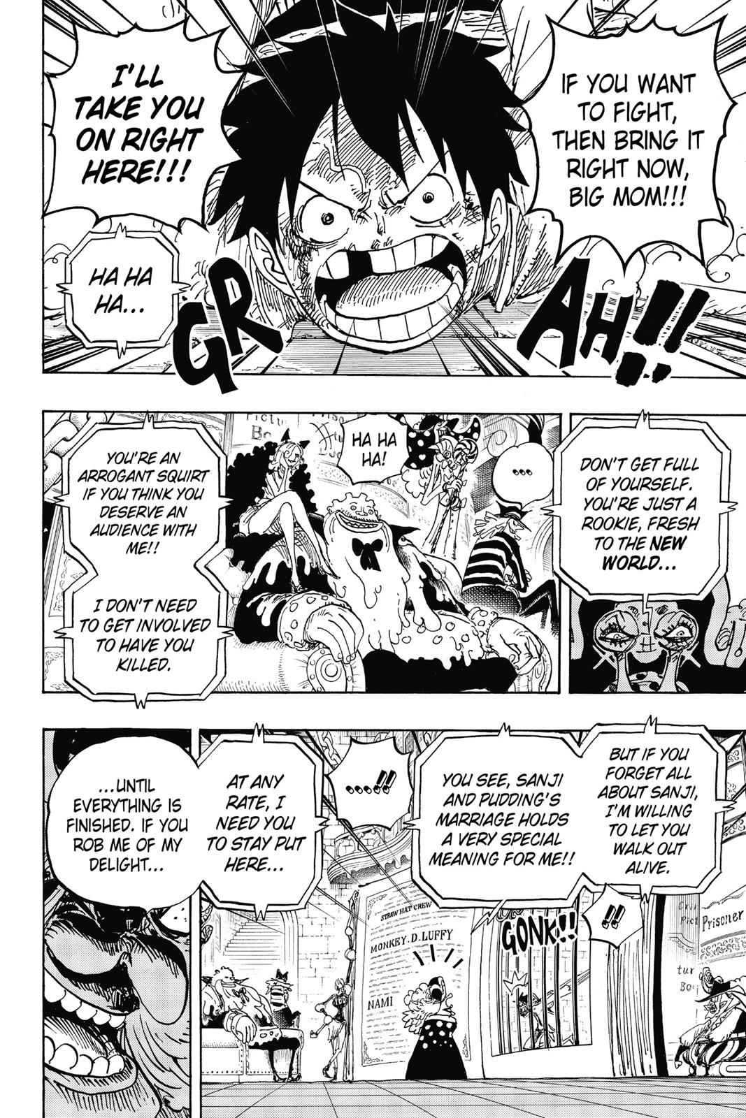 One Piece Chapter 847 Page 10