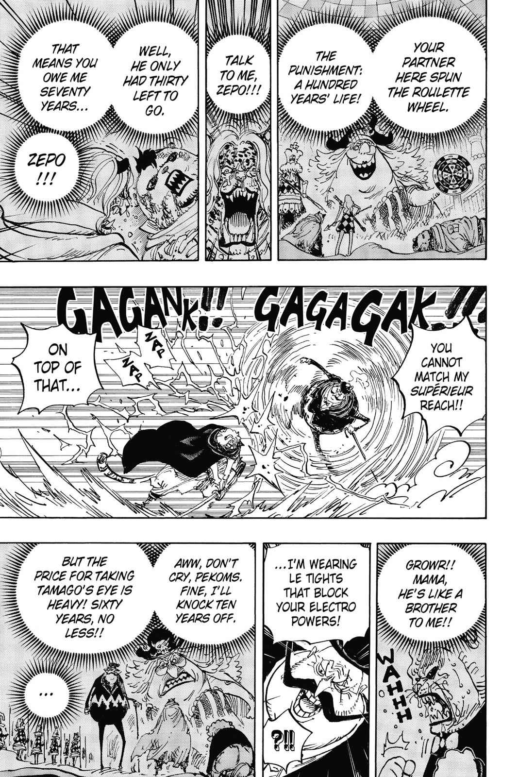 One Piece Chapter 850 Page 9