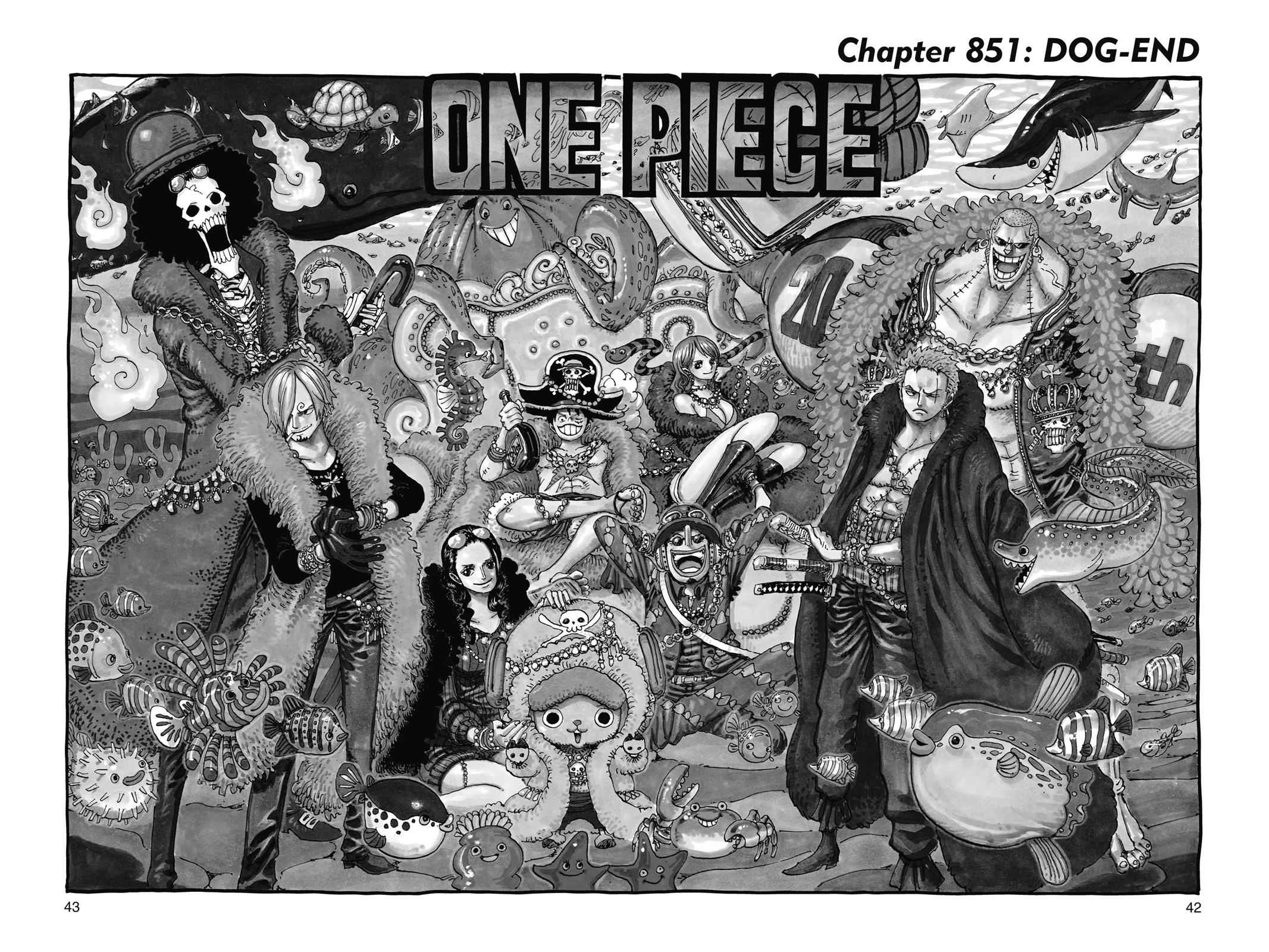 One Piece Chapter 851 Page 1