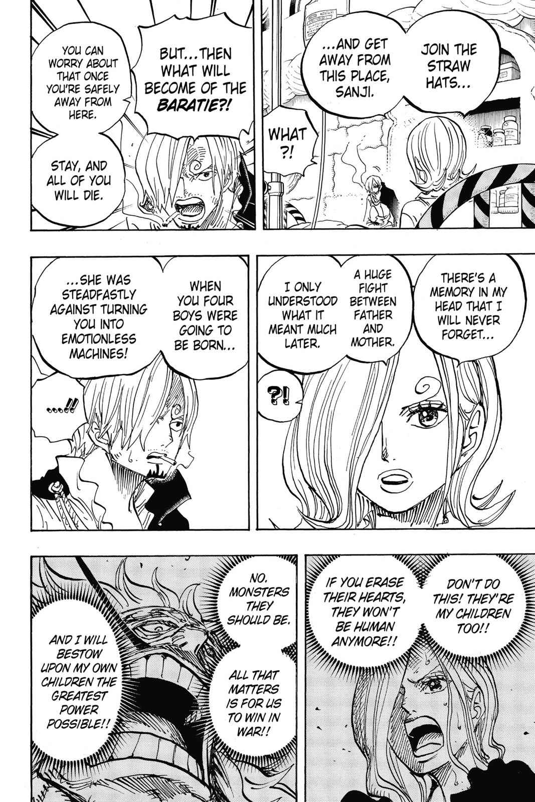 One Piece Chapter 852 Page 10
