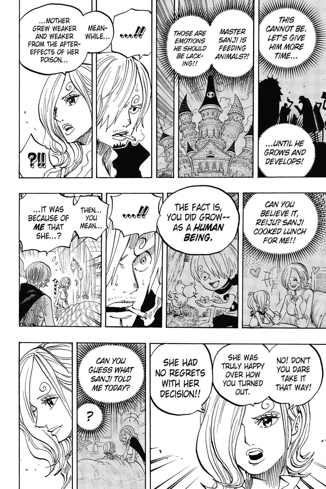 One Piece Chapter 852 Page 12