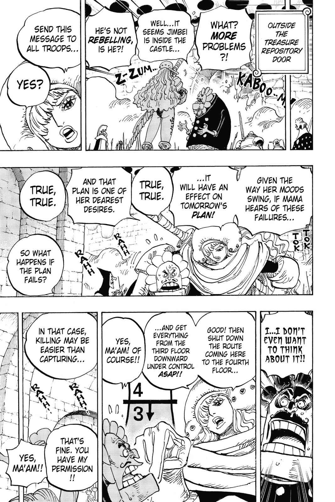 One Piece Chapter 852 Page 15
