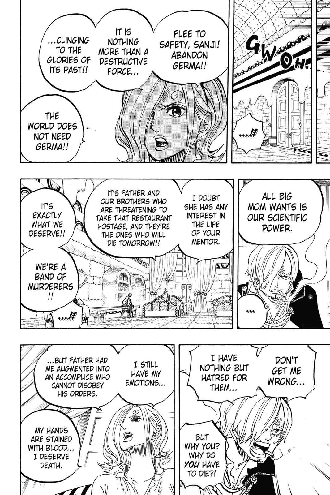One Piece Chapter 852 Page 16
