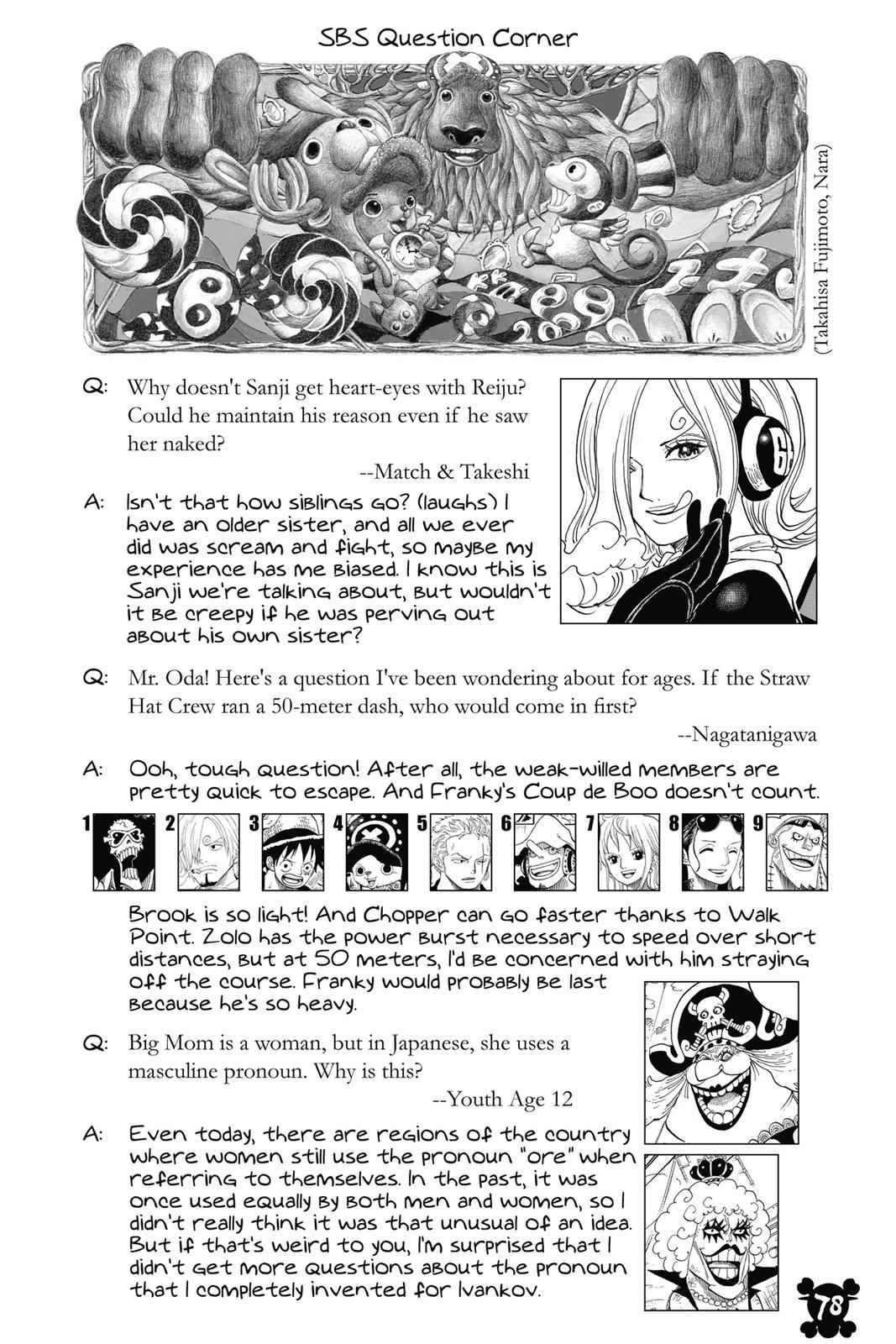 One Piece Chapter 852 Page 18